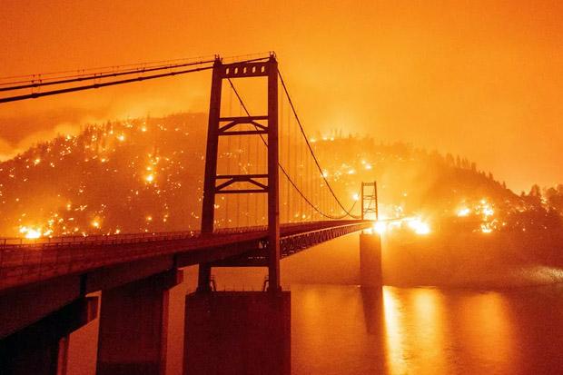 Korban Tewas Akibat Kebakaran Hutan di AS Bertambah