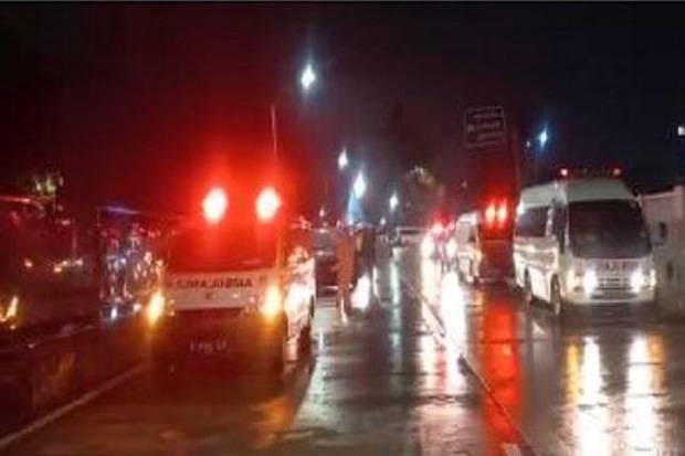 Viral Antrean Ambulans di RSD Wisma Atlet, Ini Penjelasannya