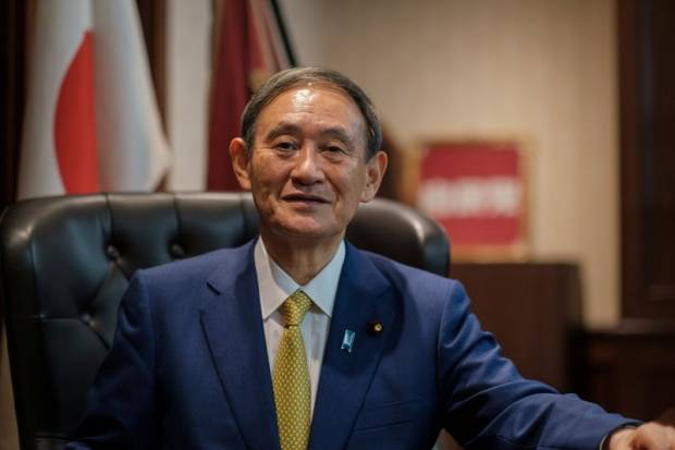 Siap Pimpin Jepang, Suga Fokus Melanjutkan Abenomics