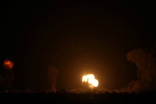 Roket Gaza dan Serangan Udara Israel Iringi Pakta Israel-UEA-Bahrain