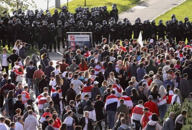 Rusia Tuduh Amerika Serikat Dorong Revolusi di Belarusia