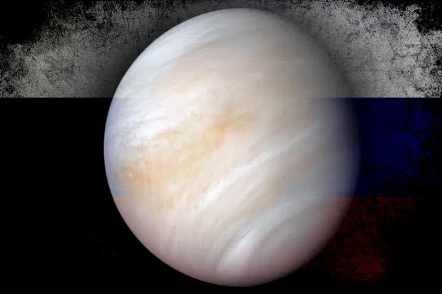 MoskowKlaimVenus sebagai Planet Rusia