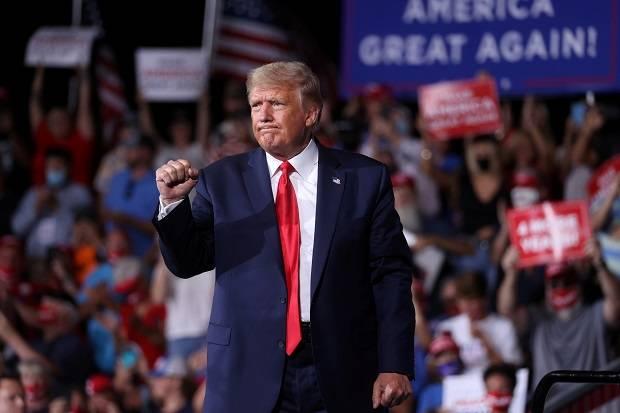 Jelang Pilpres AS, Trump Digoyang Tuduhan Serangan