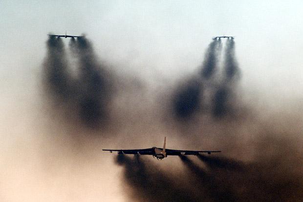 Rusia Jengkel Pesawat Pembom dan Pengintai AS Hilir Mudik Dekat Crimea