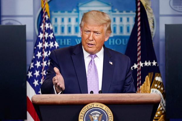 April, Trump Janjikan Vaksin Covid-19 Tersedia untuk Warga AS