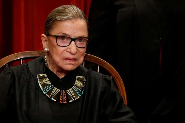 Hakim Agung AS yang Ikonik Ruth Bader Ginsburg Meninggal Dunia