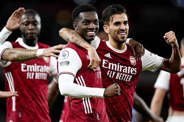 Jadi Penentu Kemenangan Arsenal Gol Eddie Nketiah Dapat Pujian