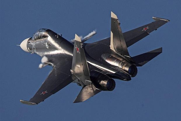 Su-30 Jatuh Diduga Tak Sengaja Dirudal Sesama Jet Tempur Rusia