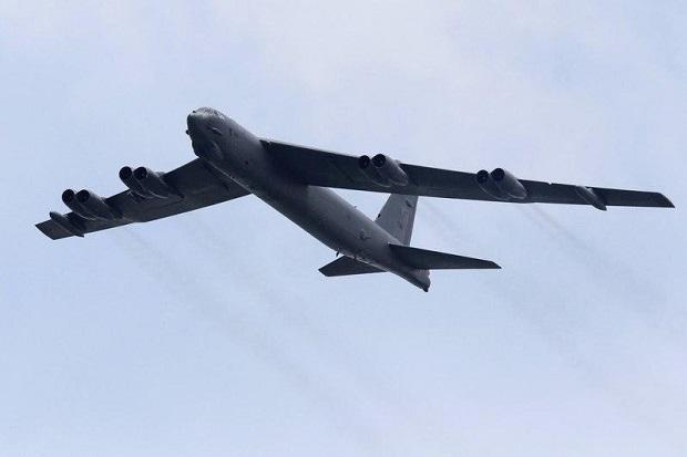 Pesawat Pembom B-52H Dekati Rusia, Moskow Lesatkan Jet Tempur Su-27