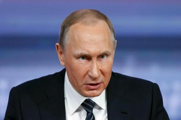 Putin Desak AS Setujui Pakta Tak Saling Ikut Campur Pemilu