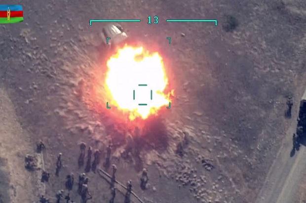 Dibombardir Artileri Azerbaijan, Pasukan Armenia M