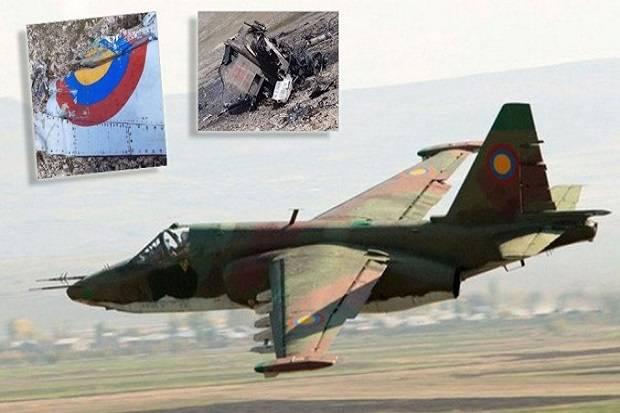 Ini Penampakan Su-25 Armenia yang Diklaim Ditembak