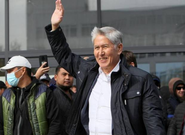 Mantan Presiden Kyrgyzstan Atambayev Selamat dari Upaya Pembunuhan
