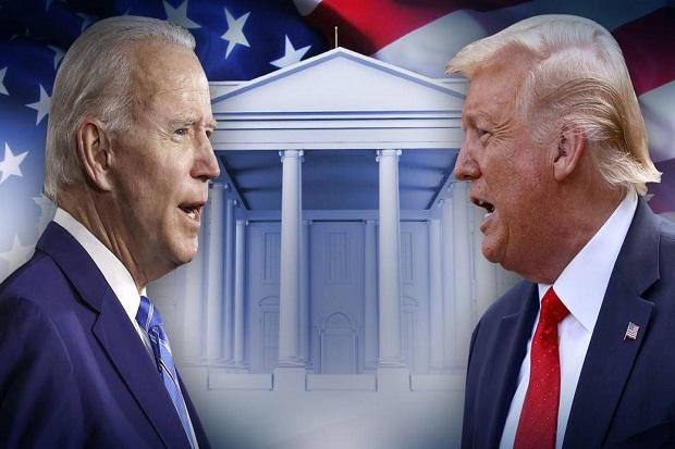 Trump dan Biden Bertarung di Dua Acara Televisi Berbeda