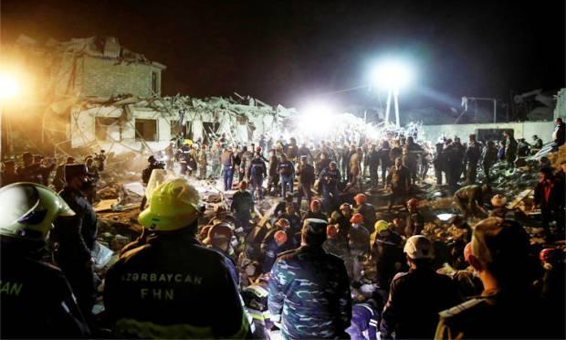 Diserang Armenia, 12 Warga Sipil Tewas dan 40 Orang Terluka di Ganja