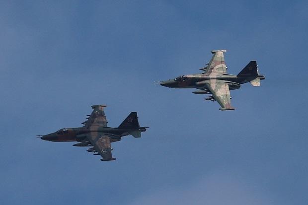 Azerbaijan Tembak Jatuh Jet Tempur Su-25 Armenia