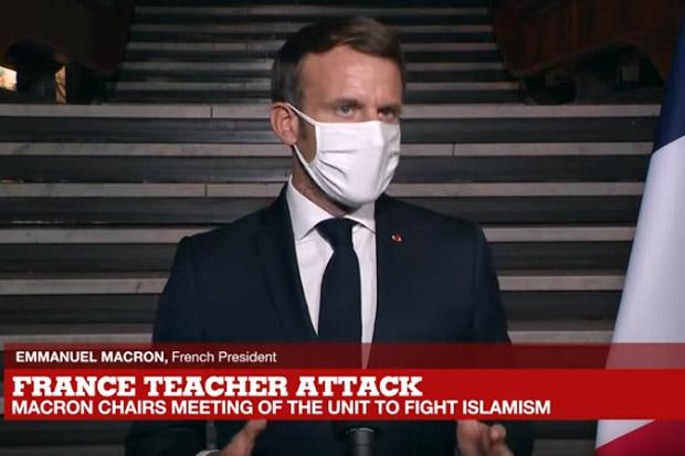 Prancis Bubarkan Kelompok Pro Hamas