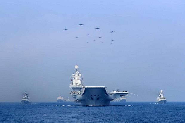 Inggris Sebut China Coba Bangun Kekuatan Militer Maritim Terbesar di Dunia