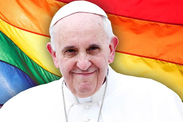 Paus Fransiskus Dukung Aturan yang Legalkan Pernikahan Sejenis