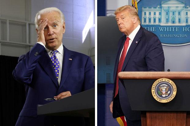 Pemilihan Presiden AS: Biden Andalkan Obama, Trump Fokus Ekonomi