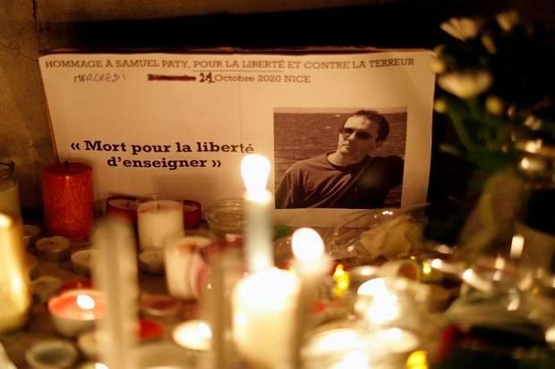 Pria di Prancis Didakwa karena Like Foto Guru yang Dipenggal