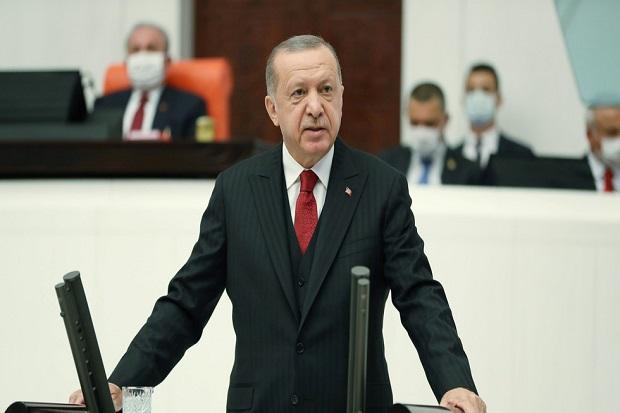 Imbas Kartun Nabi Muhammad, Erdogan Minta Rakyat Turki Boikot Produk Prancis