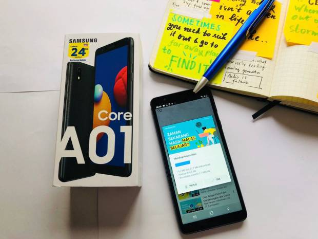 Murah, Meriah, Mumpuni, Ini 3 Pilihan Samsung Galaxy Rp1 Jutaan untuk Anak Sekolah