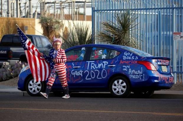 Pendukung Trump Turun ke Jalanan, Tak Terima Jagoannya Kalah