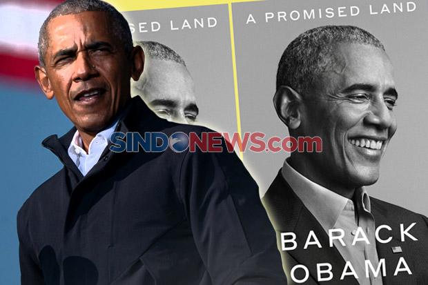 Obama Pecahkan Rekor Penjualan Memoar Presiden