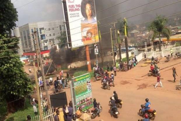Demo Penangkapan Capres Uganda Tewaskan 37 Orang, Situasi Mirip Perang