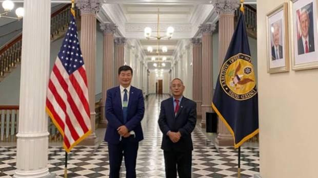 Pertama dalam 6 Dekade, Pemimpin Politik Tibet Kunjungi Gedung Putih
