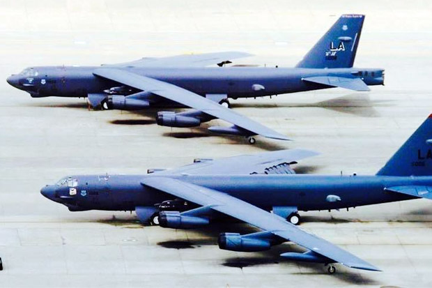 AS Kerahkan Pembom B-52 ke Timur Tengah