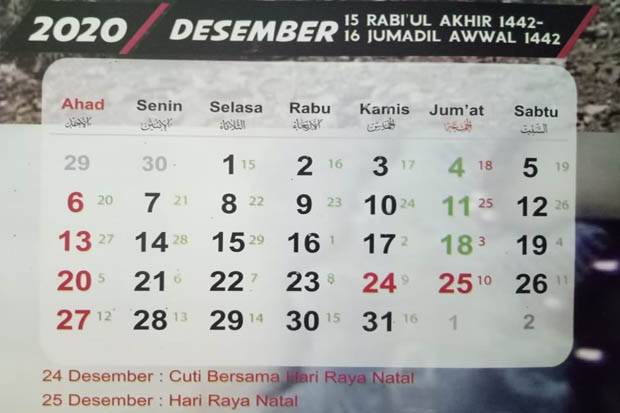 Jadwal Puasa Sunnah Bulan Desember 2020 News On Rcti
