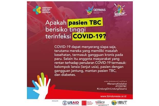 Layanan TBC Tak Boleh Dihentikan, Tetap Agresif Meski di Masa Pandemi