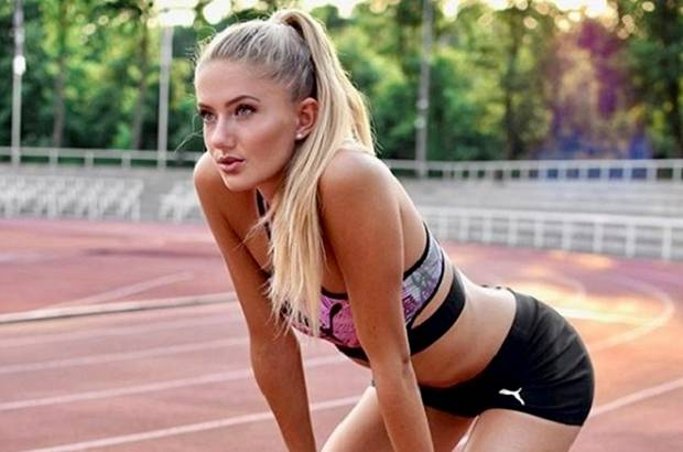 Alica Schmidt, Bidadari Cantik Penguasa Lintasan Lari