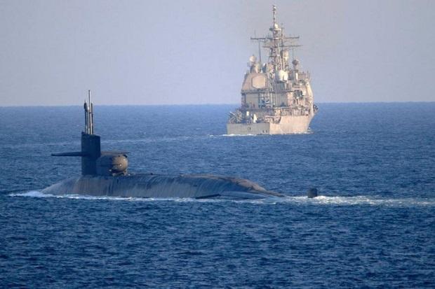 AS Gertak Iran dengan Kapal Selam Nuklir Bersenjata Rudal Tomahawk