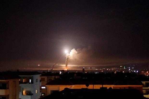 Rentetan Rudal Israel Hujani Suriah di Hari Natal