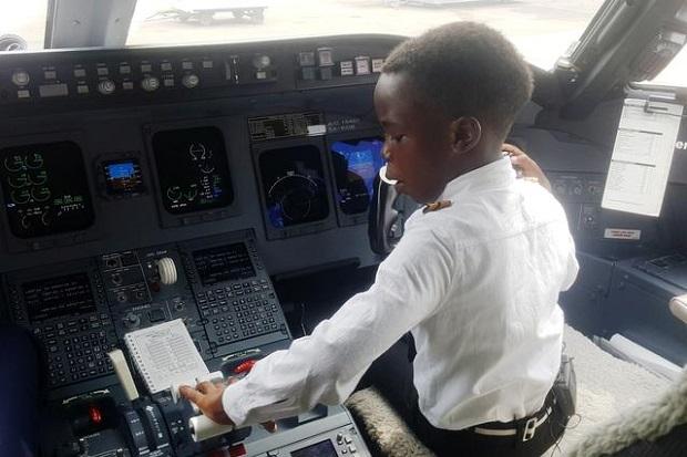 Idolakan Elon Musk, Bocah 7 Tahun di Uganda Bisa Terbangkan Pesawat