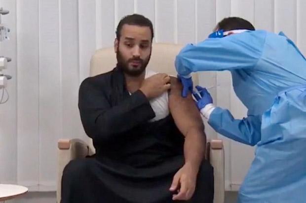 Putra Mahkota Arab Saudi Dapatkan Dosis Pertama Vaksin COVID-19
