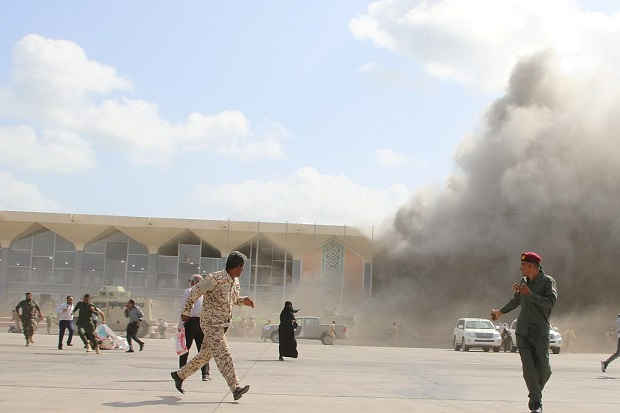 Serangan Teroris Guncang Bandara Yaman, Korban Tewas Menjadi...