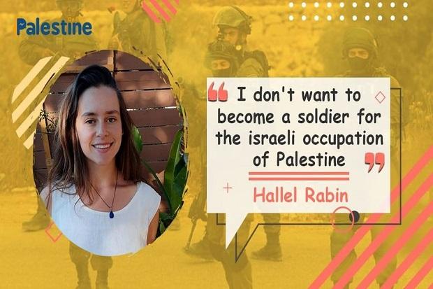 Hallel Rabin, Gadis yang Menolak Jadi Tentara Israel dan Memilih Dipenjara