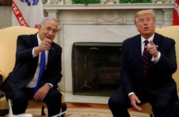 Netanyahu Hapus Foto Bersama Trump dari Banner Akun Twitternya
