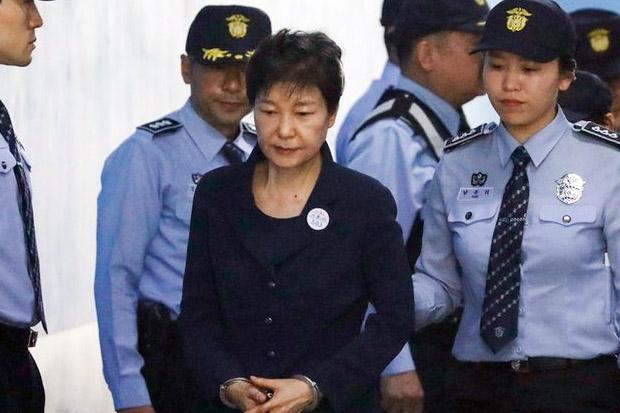 Korupsi, Presiden Wanita Pertama Korsel Divonis 20 Tahun Penjara