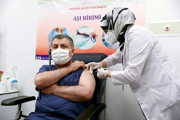 Seperti Indonesia, Turki Juga Mulai Suntikkan Vaksin Sinovac China
