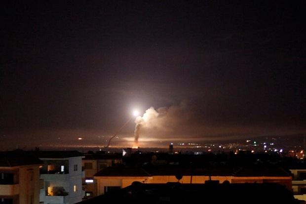 Dahsyatnya Serangan Udara Israel di Suriah, 57 Orang Tewas