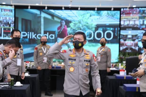 Kapolri Idham Azis Minta Jajarannya Solid Dukung Listyo Sigit Prabowo