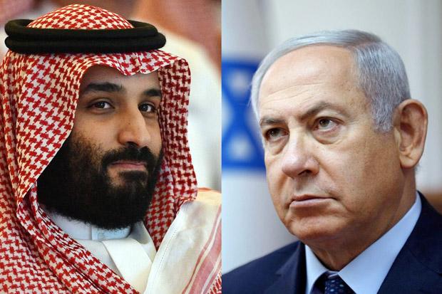 Arab Saudi Ngambek Israel Bocorkan Pertemuan Rahasia Netanyahu-MBS