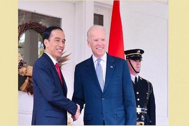 Jokowi Ucapkan Selamat ke Presiden Biden dalam Bahasa Inggris