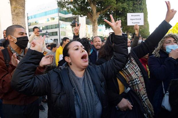 Tunisia Dilaporkan Tangkap 1.000 Orang dalam Kerusuhan Selama 6 Malam