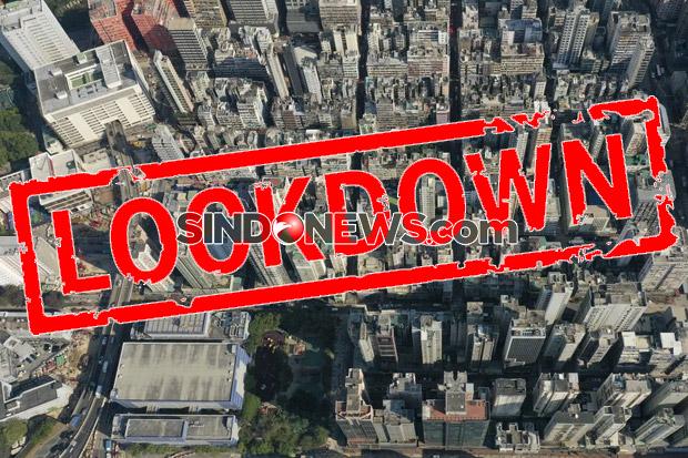 Pertama Kalinya Sejak Pandemi COVID-19, Hong Kong Berlakukan Lockdown